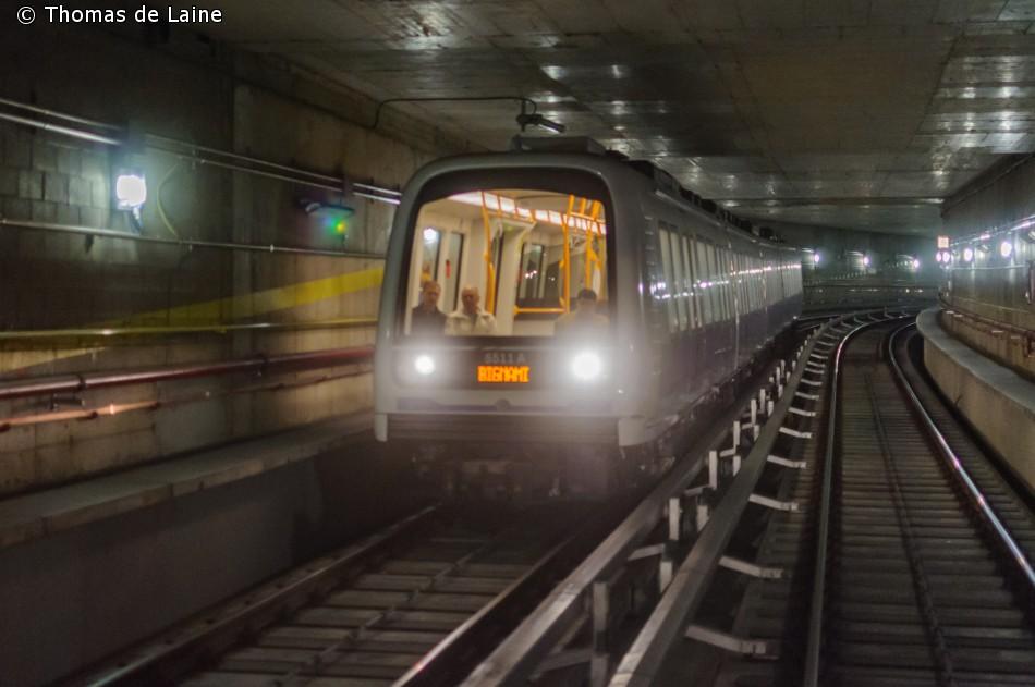 Metrotog i Milano