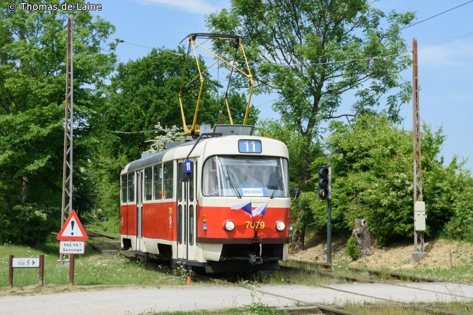 Prag-sporvogn 7079