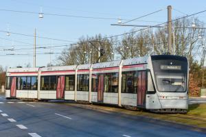 Variobahn-vogntog på Randersvej