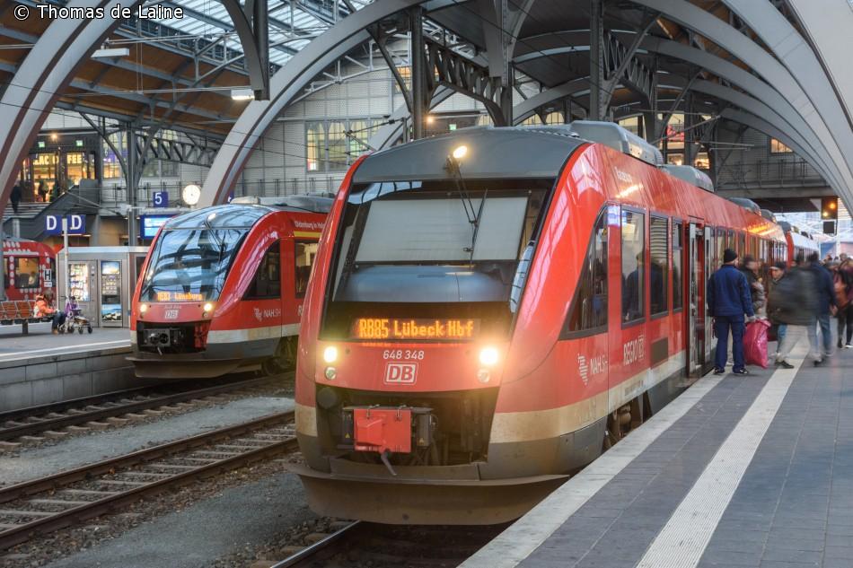 DB-regionaltog i Lübeck