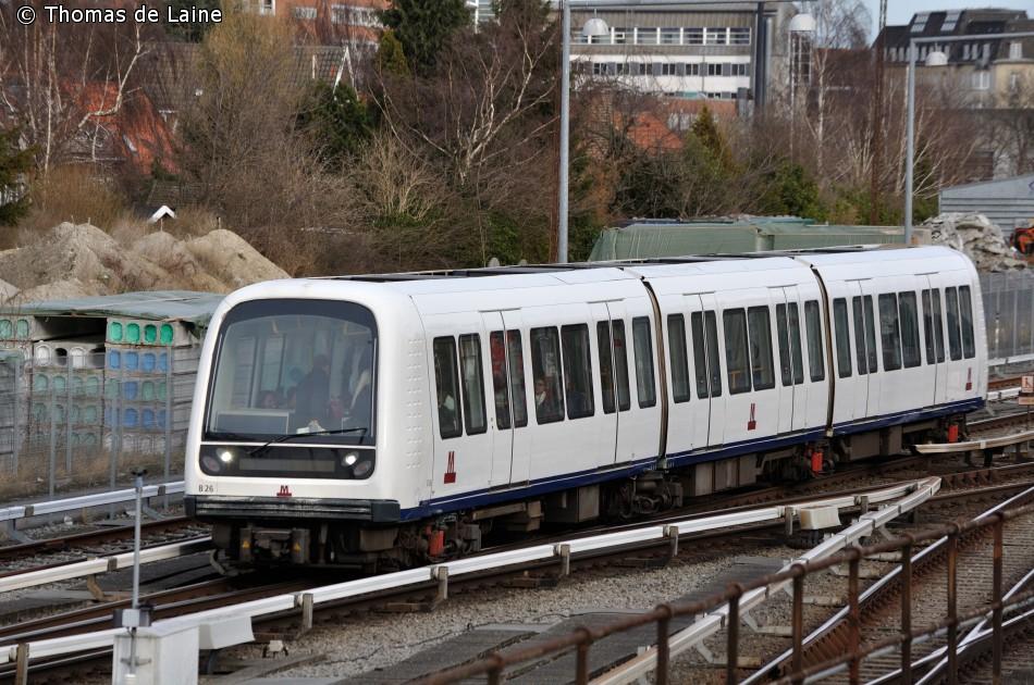 Metrotog i Vanløse