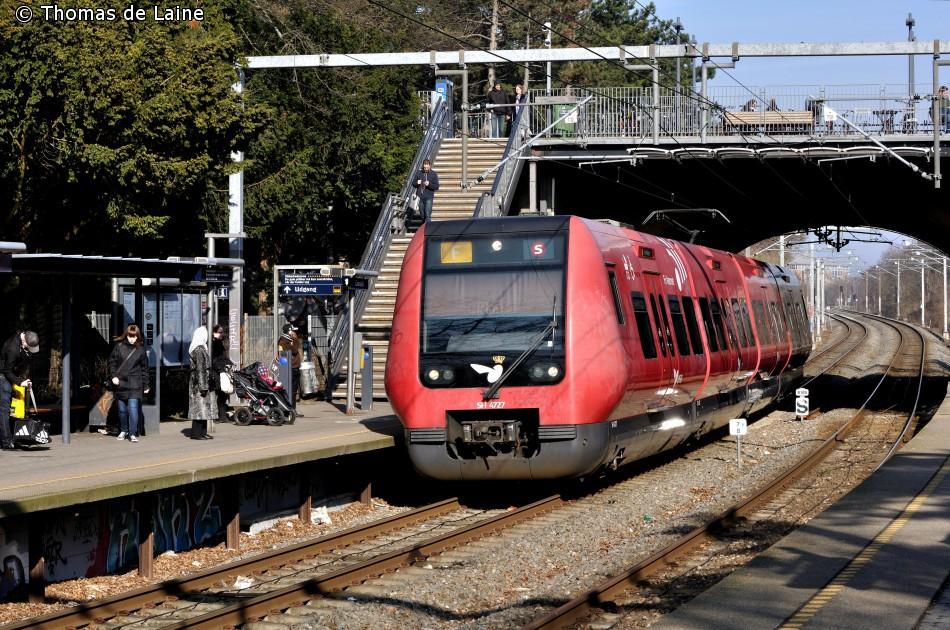 SE-tog på Ringbanen