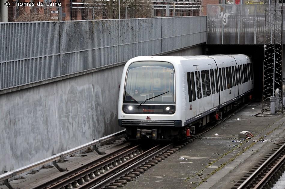 Metrotog ved Fasanvej