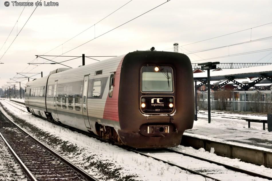 Lokaltog FS 1122-MF 1022 i Slagelse