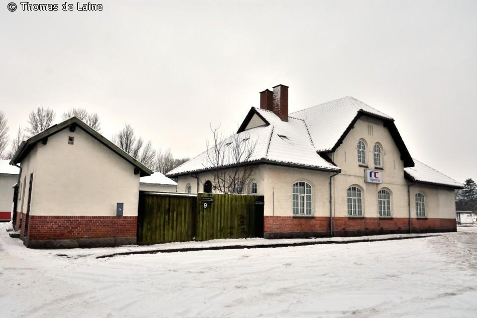 Stationsbygningen i Ruds Vedby